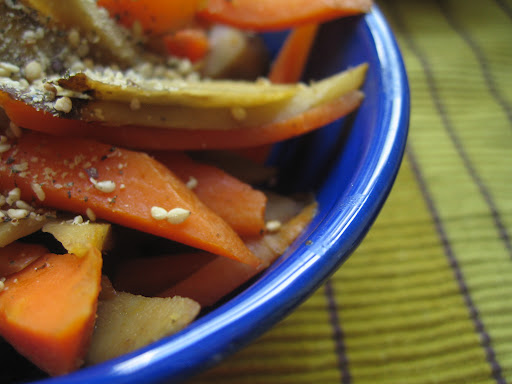 Carrot & Burdock Kinpira How-to.