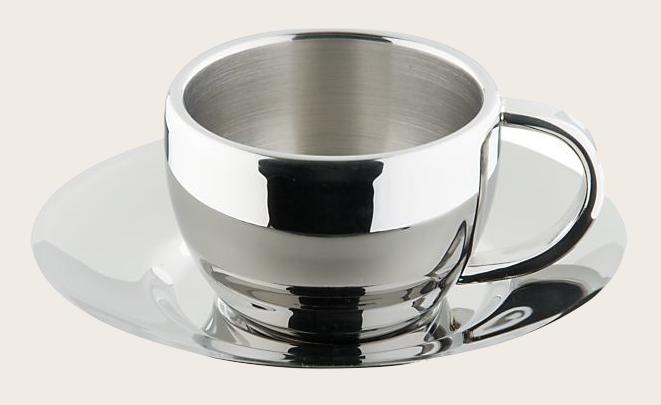 Crate & Barrel: Classic proportions, 4 fluid ounces.