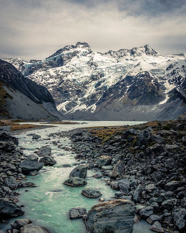 Of all the treks, tracks, and tramps, Aoraki / Mt. Cook in New Zealand may have been the best 🇳🇿📍 . . Hooker Valley Track, Aoraki/ Mount Cook NP, New Zealand, 2015 . . #travel #photography #wanderlust #beautiful #nature #trip #travelgram #explore #traveling #instatravel #rei1440 #optoutside #adventure #wildernessculture #getoutside #exploremore #aoraki #newzealand #mtcook #mountcook #nz #mountains #travelphotography #mtcooknationalpark #southisland #aorakimountcooknationalpark #nzmustdo #hiking #hookervalley #nationalpark