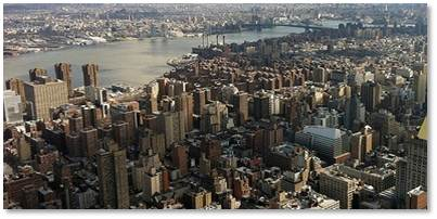View of NYC from the top of the Empire State Building, where we met with potential partners for THE NEXT BIG DREAM