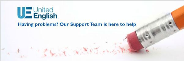 United English Support Team is always available to lend a hand.