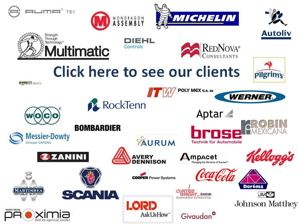 Haz clik aquí para ver nuestros clientes actuales.