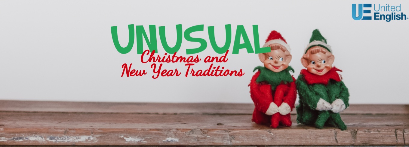 English Christmas Traditions.Unusual Christmas Traditions From Around The World
