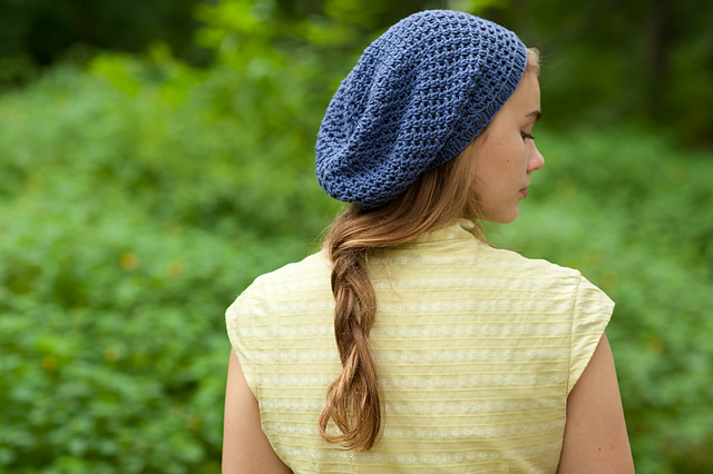 Pauline Hat, Quince & Co. Crochet Book no. 1