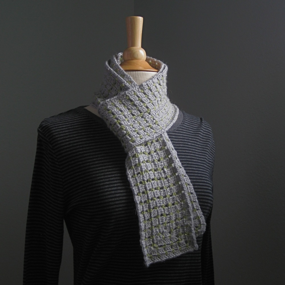 Link to Ravelry project page: Granny Brick Scarf