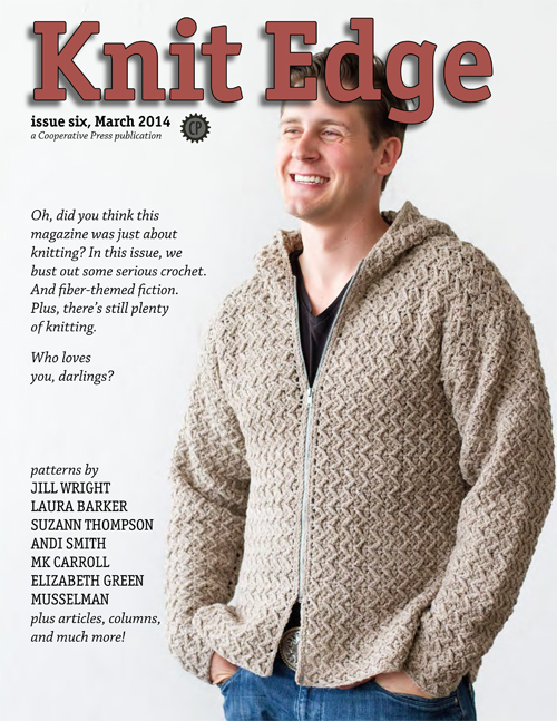 Knit Edge magazine, issue 6 cover