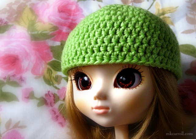 Basic Crochet Doll Hat Pattern Mk Carroll