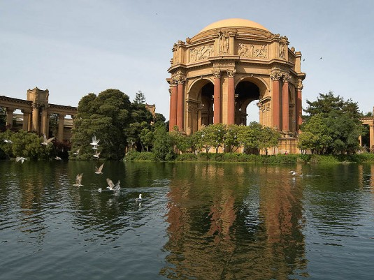 The Palace of Fine Arts