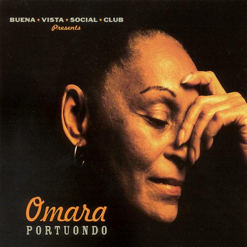 Cuban singer and dancer Omara Portuondo
