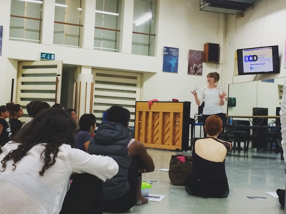 ENB's meeting for Dancers' Career Development