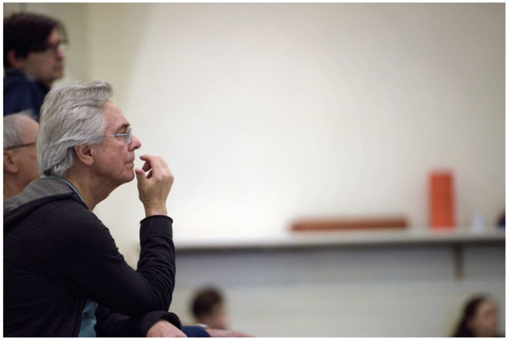 John Neumeier rehearsing with English National Ballet in the studio.    Photo Credit:  Laurent Liotardo Photography    Original Link:  http://www.flickr.com/photos/englishnationalballet/16764418065/in/photostream/