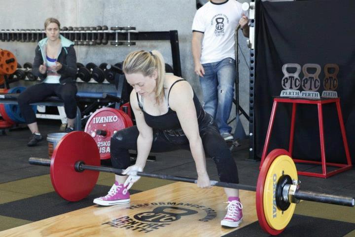 PTC Perth Dead-lift comp 105kg
