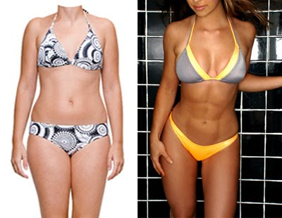Skinny fat vs Strong healthy