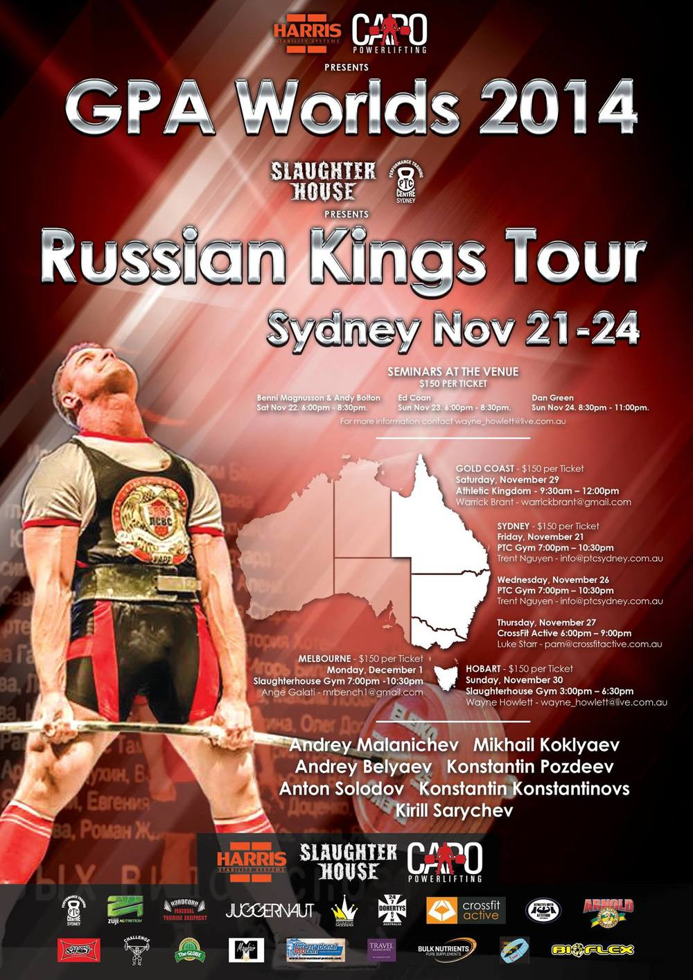 Russian Kings Poster