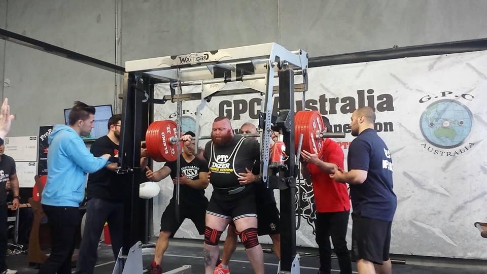 330kg squat
