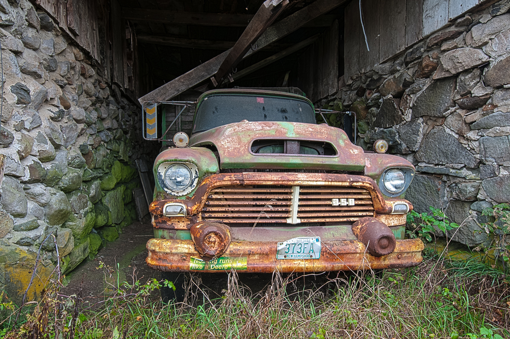 Abandoned Truck 1