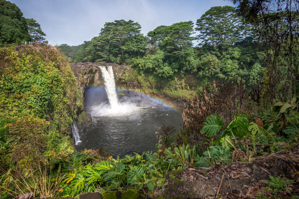 Hawaii's Rainbow Falls