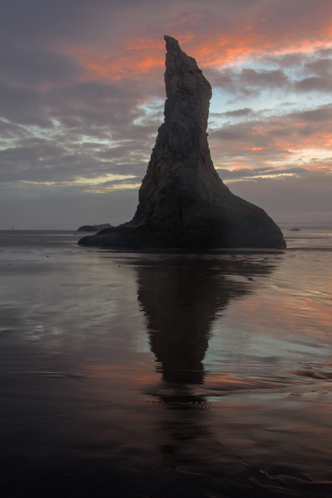 Sea Stack in Sunset