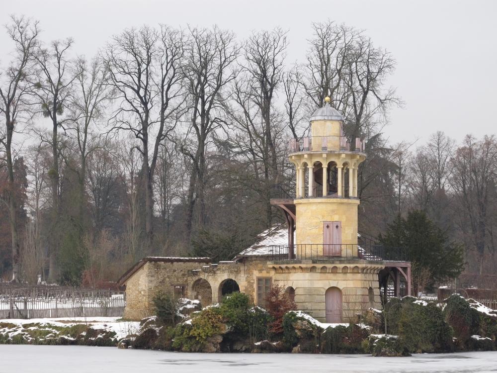 Snowy Versailles