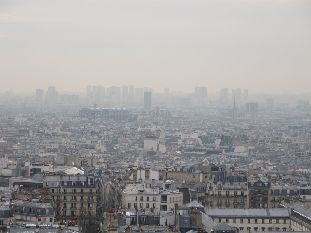 Paris, Sacre Coeur and Montmartre