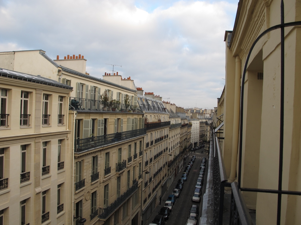 Paris Hotel Room view
