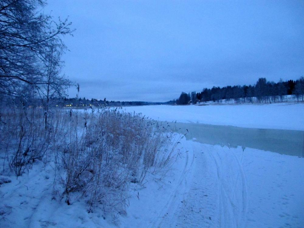 Snowy Piteå Photo Walk