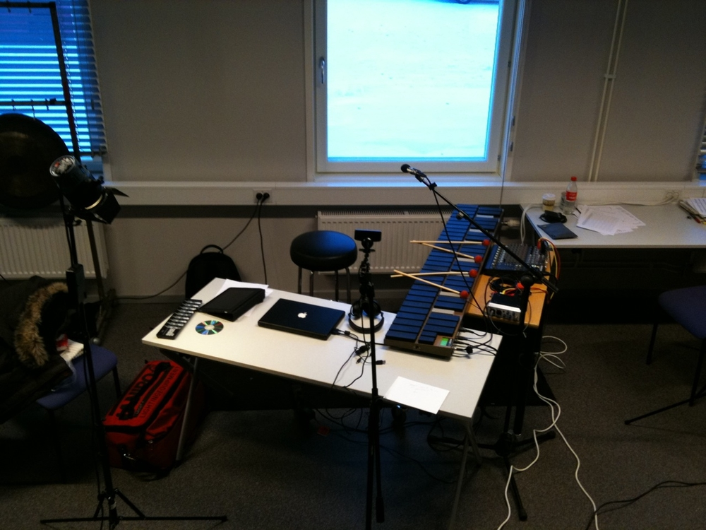 I'm playing in LMTD at CCAS, Canberra tomorrow! This is my setup. Not the best room, but it works ok!