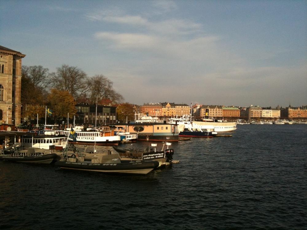 Stockholm iPhone scenes.