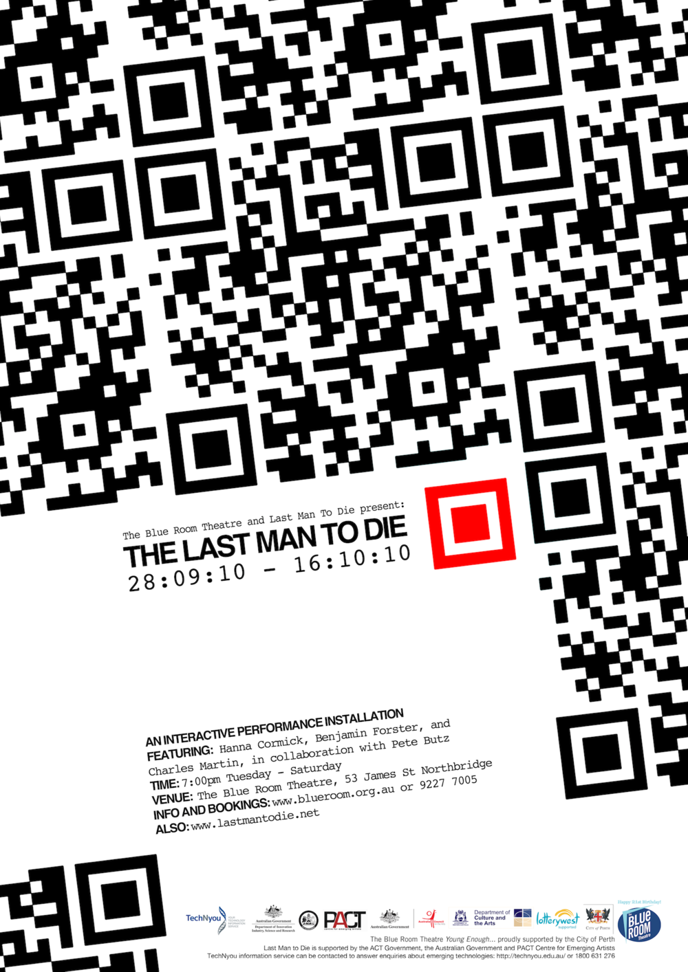 LMTD Blue Room Poster