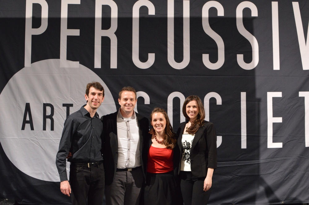 After our performance at PASIC!