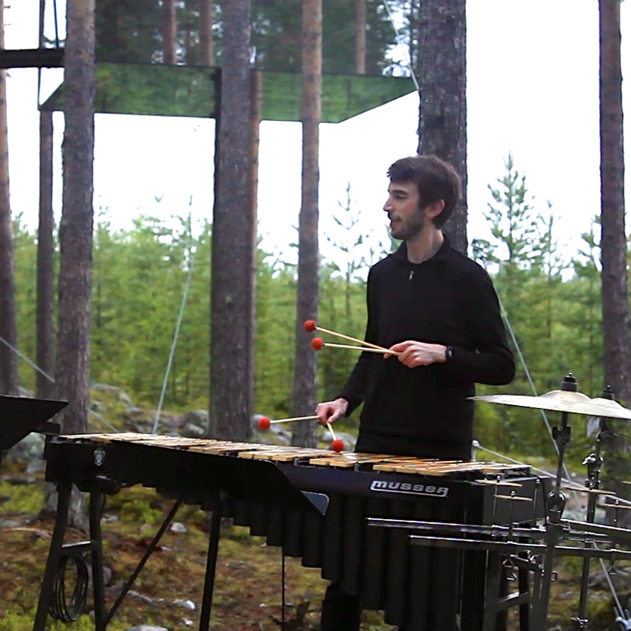 Charles Vibraphone at the Mirror Cube.jpg