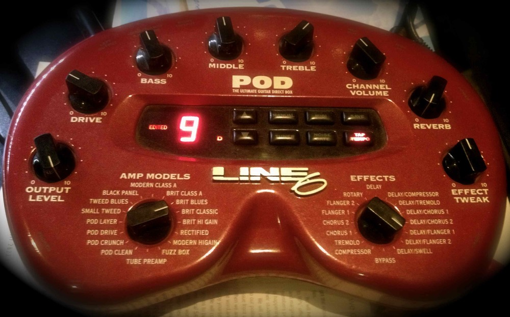 Line 6 POD with 2.0 Chip upgrade
