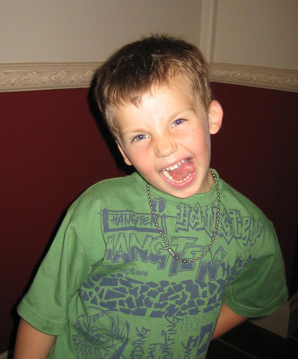 Salem - aged 5