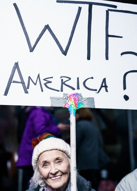 Women's March, Washington DC - Benedict Evans