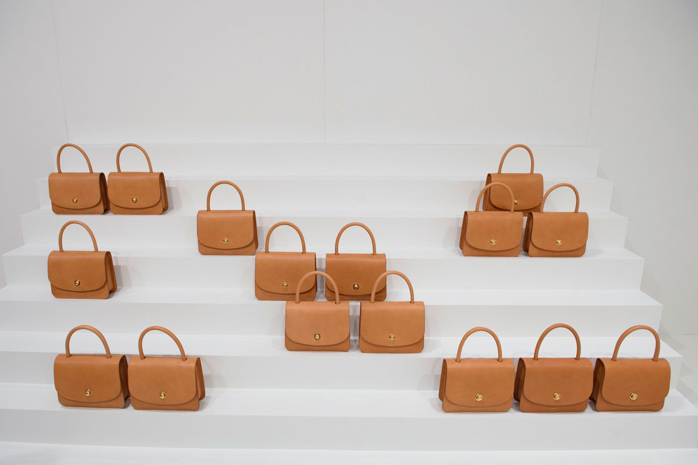 Mansur Gavriel Spring 2017 presentation, via The Impression