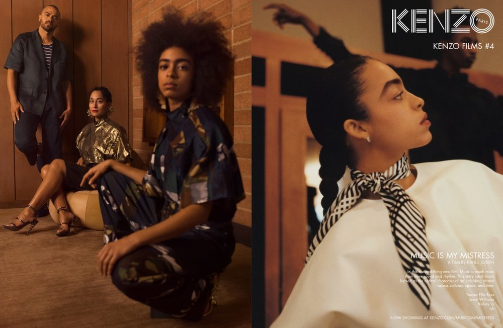 "Inspiration: KENZO ""Music Is My Mistress"""