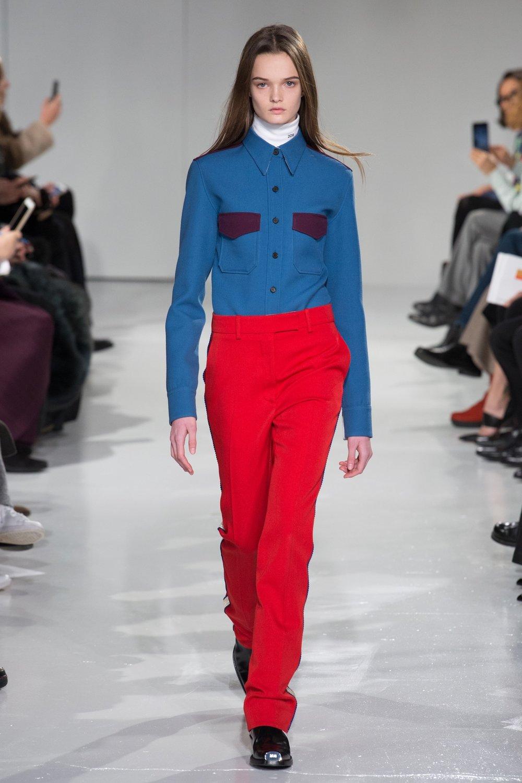 Calvin Klein AW17, image via BOF