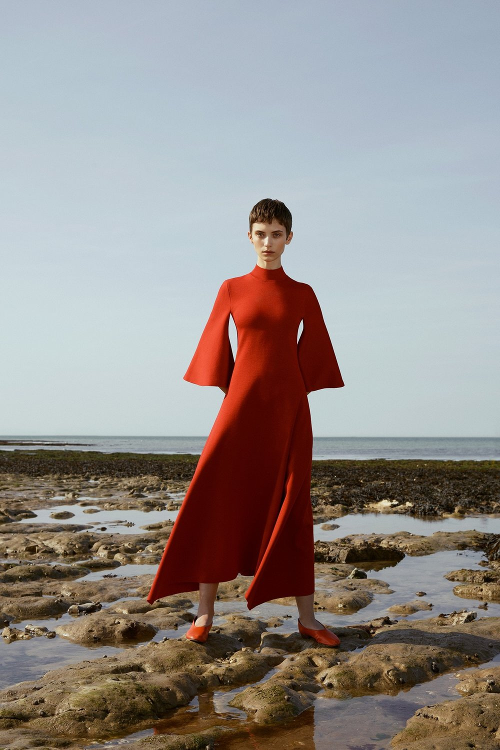Trends: Pringle says bell sleeves are here to stay -  Pringle Cruise 2018, image via The Business Of Fashion
