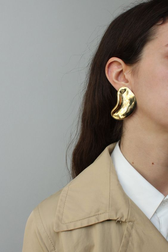 FASHION NEWS #24 Image via Pinterest, liquid earring  bonsergent-studio.com