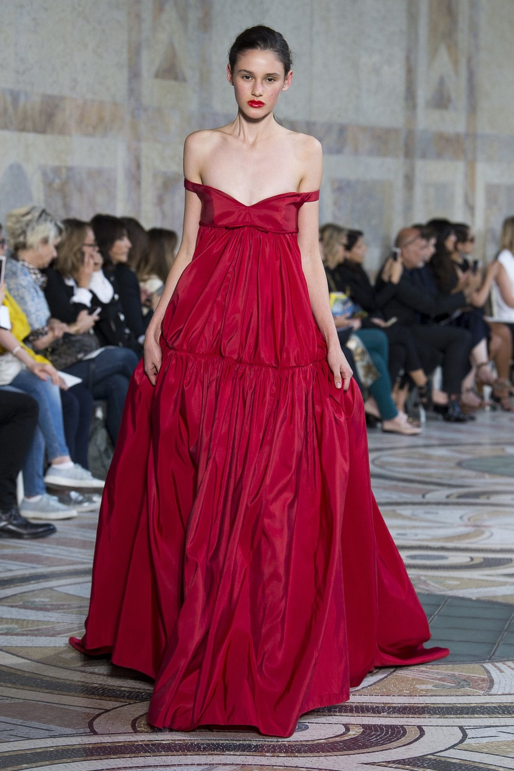 Giambattista Valli Autumn 2017 Haute Couture, image via The Business Of Fashion