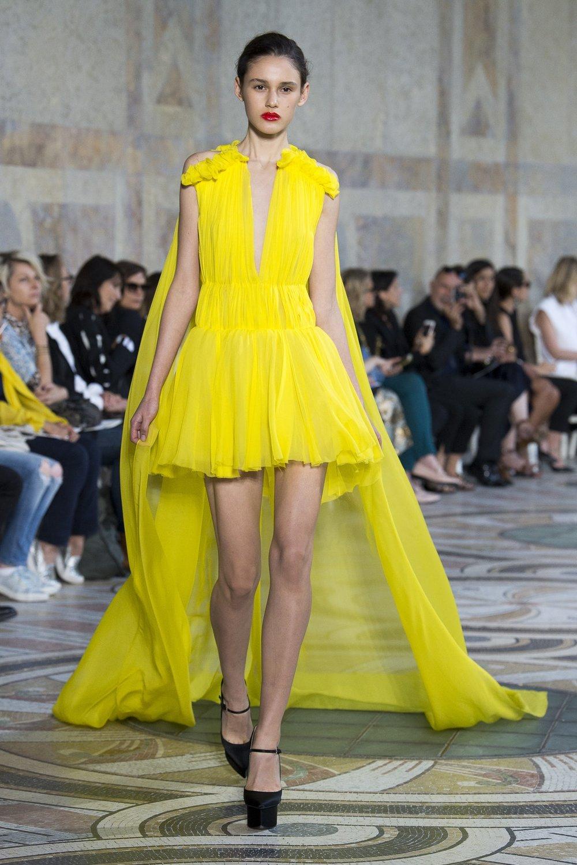 Giambattista Valli Autumn 2017, via The Business Of Fashion