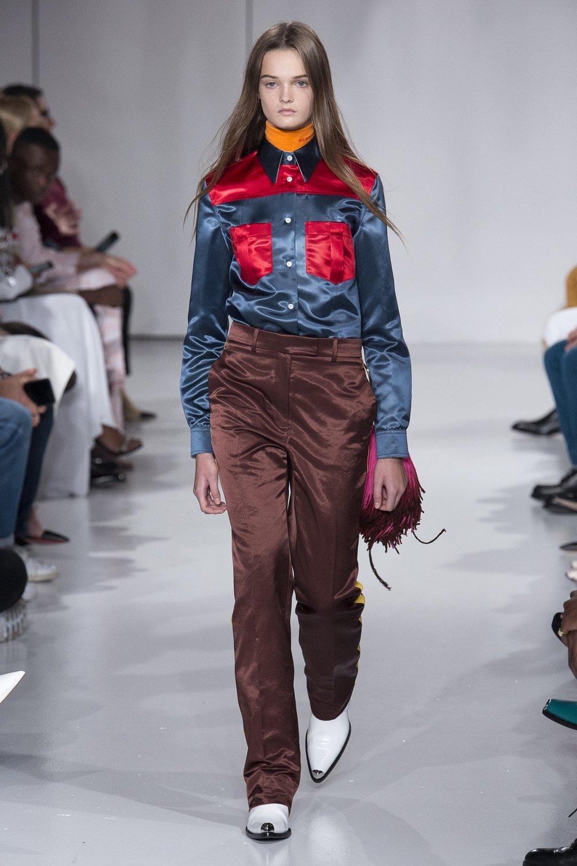 Calvin Klein Spring 2018, image via BOF