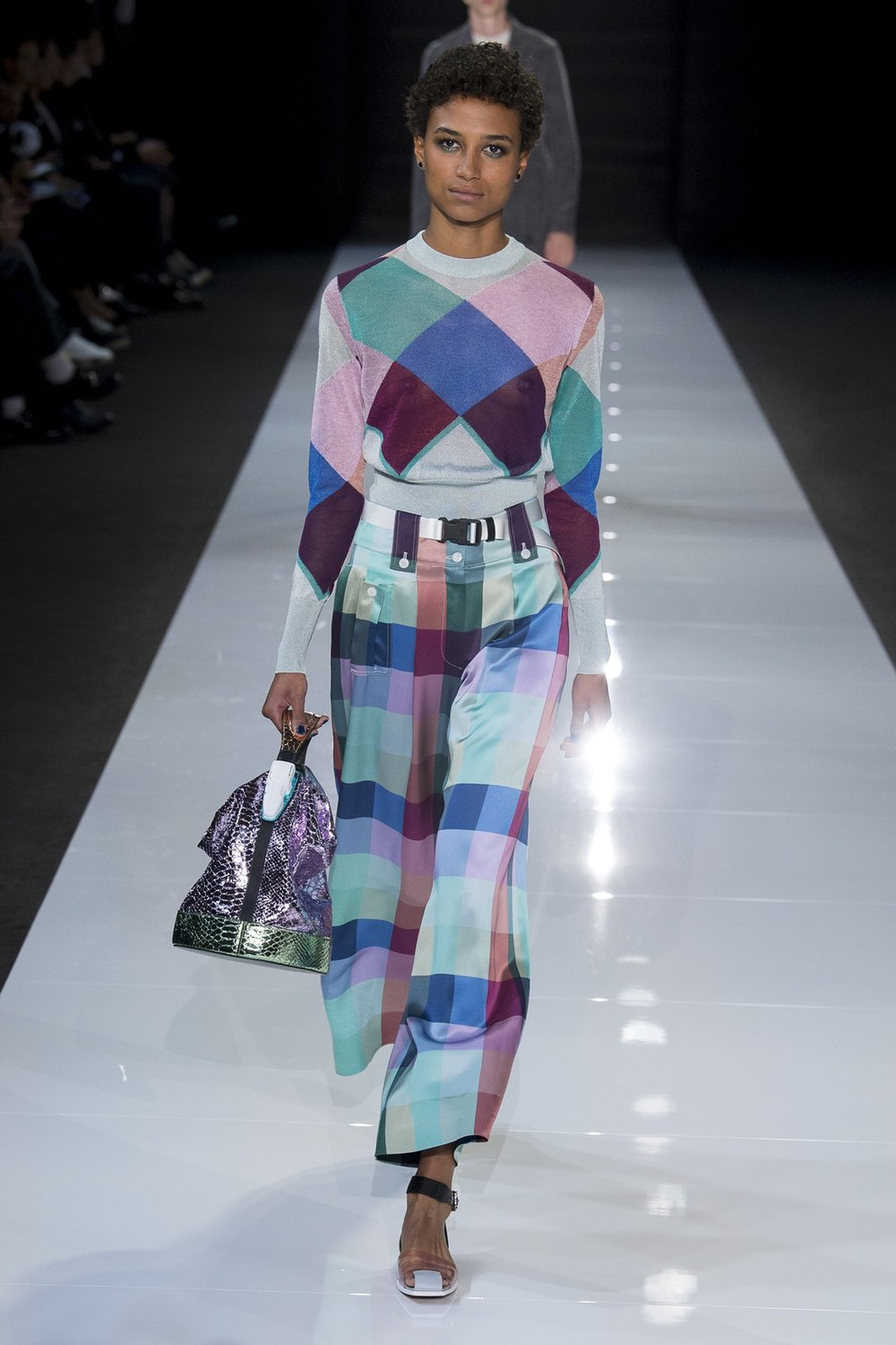 Emporio Armani Ready-To-Wear Spring 2018, image via BOF