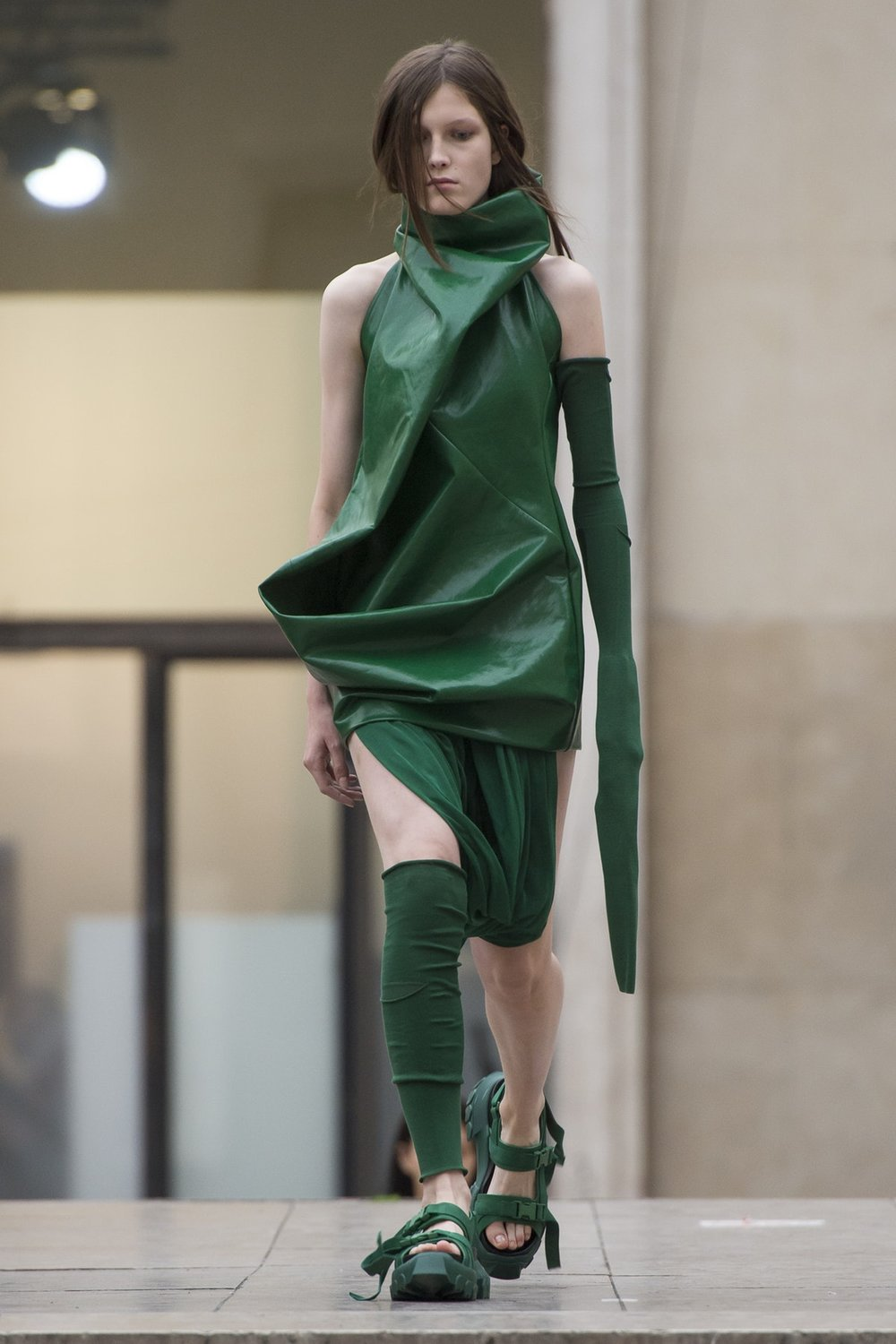 Rick Owens Ready-To-Wear Spring 2018, image via The Business Of Fashion