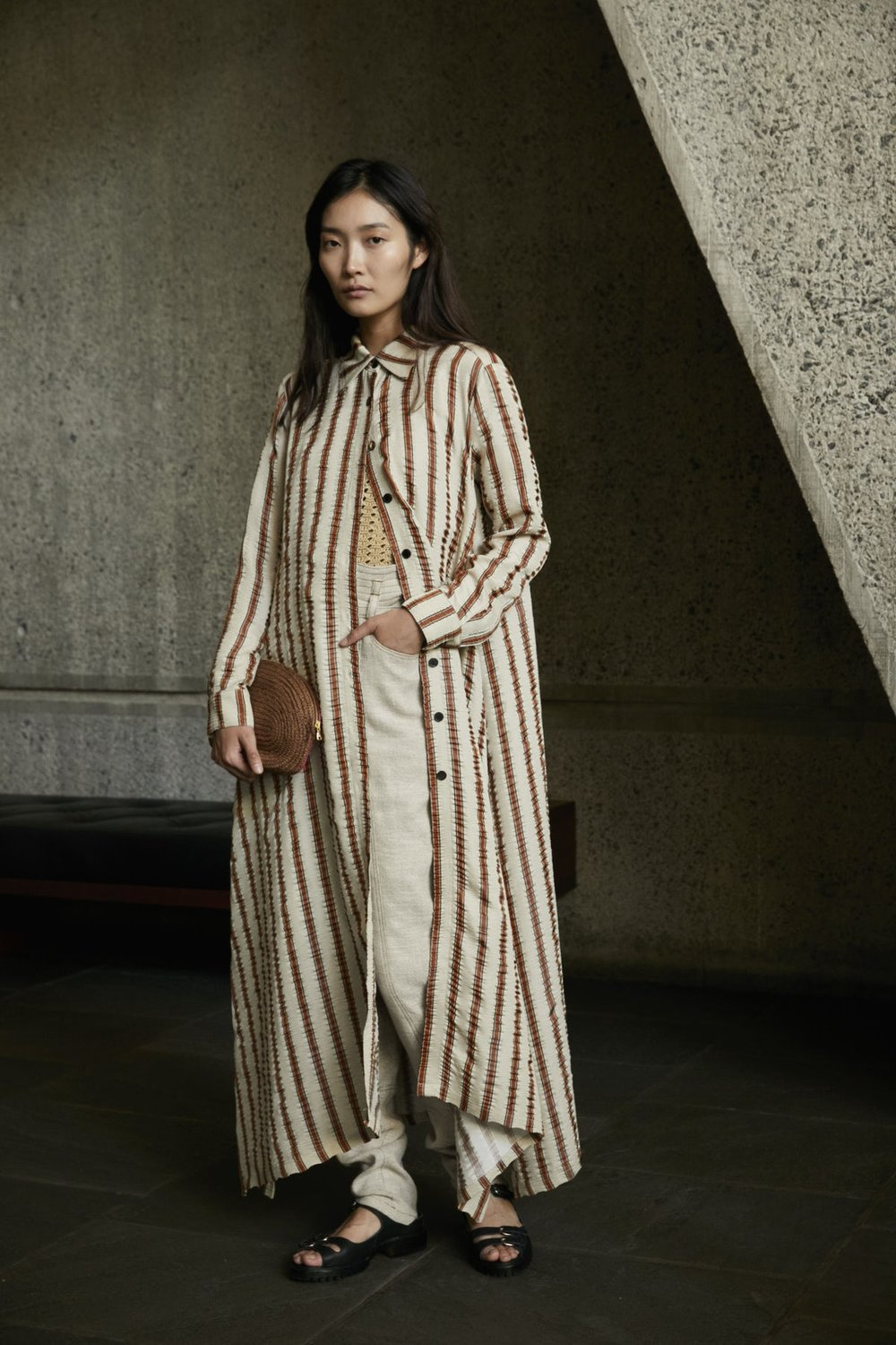 Rachel Comey Spring 2018, image via The Business Of Fashion