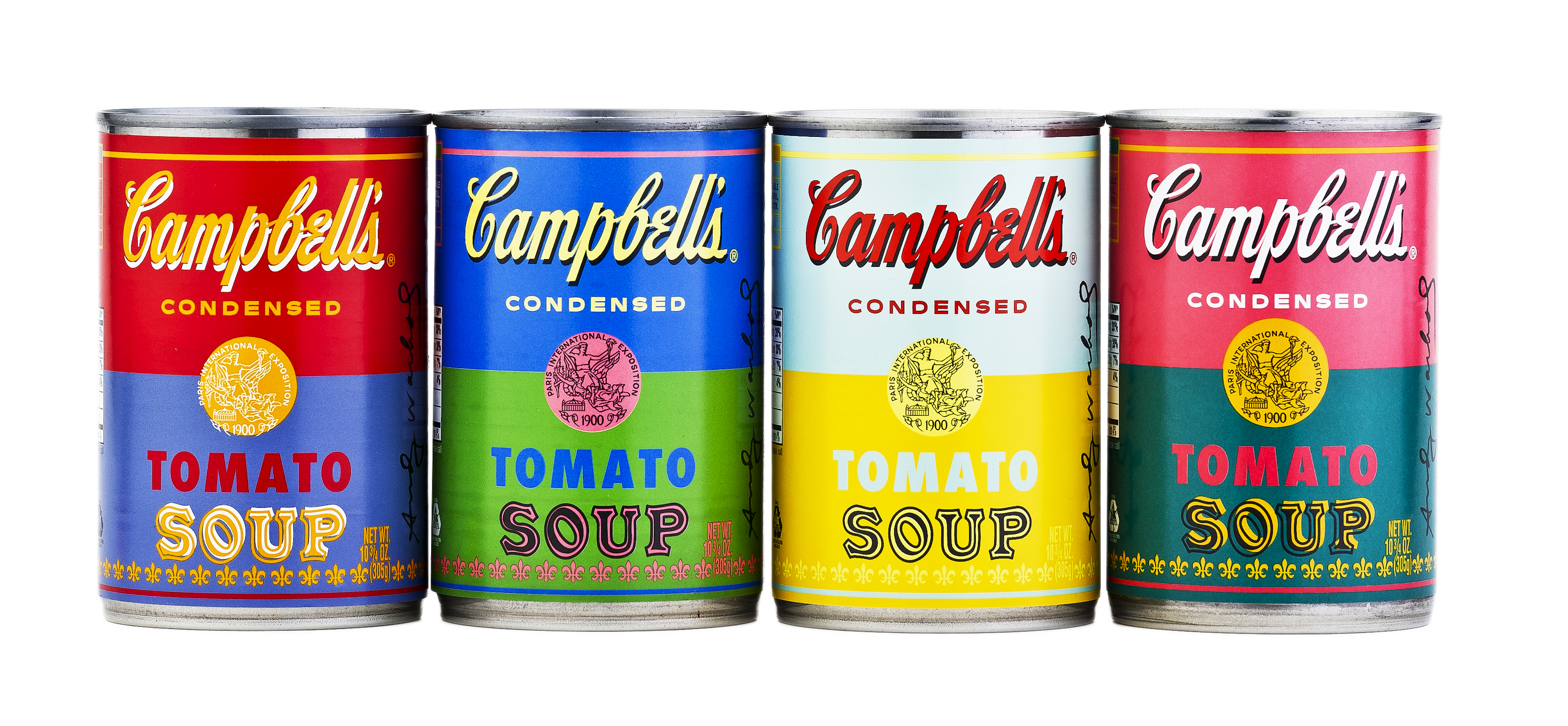 Warhol Inspired Soup Cans