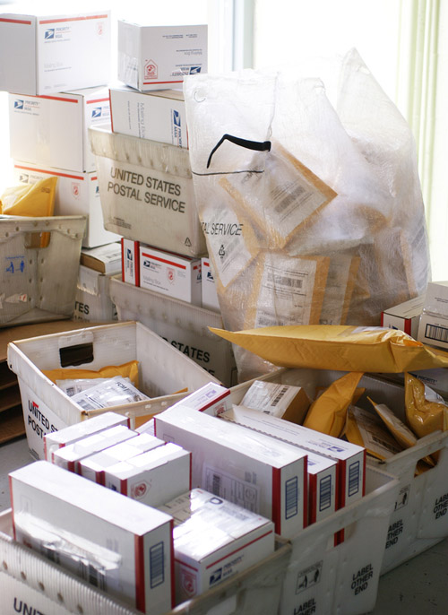These packages are the pile of out-going orders the day I took pics ;-)