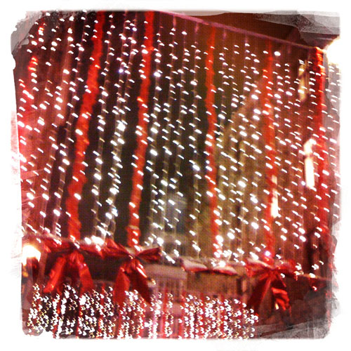 iPhone photography: Christmas street decorations on Biblioteksgatan