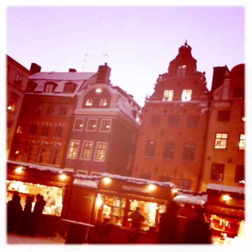 iPhone photography: Christmas market, Old Town