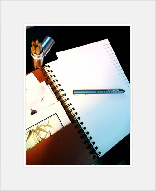 creative-notebook-space